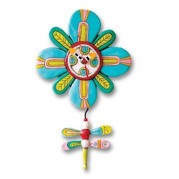 dragonfly pendulum clock