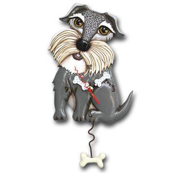 dog pendulum clock